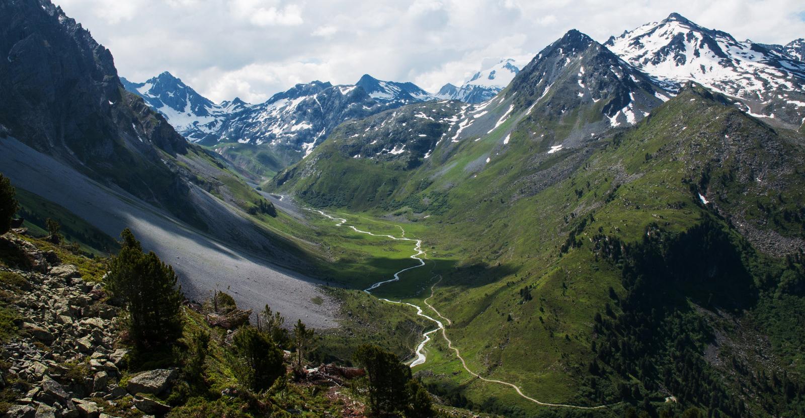 Parc Naturel de la Vanoise - réserve de Tueda