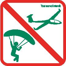 survol interdit